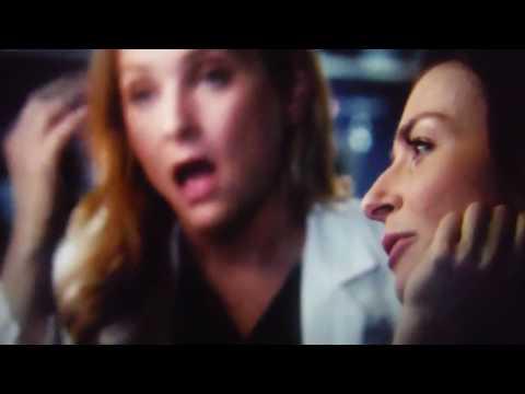 Grey's Anatomy  Amelia and Arizona study dr Herman's tumor season 11 episode 8