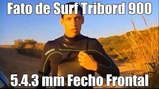 Fato de Surf Tribord 900 5.4.3 Fecho Frontal - Decathlon Torres Vedras