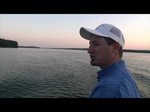 Bass Fishing Lake Greenwood
