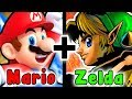 What If Nintendo Made A MARIO And ZELDA CROSSOVER GAME?