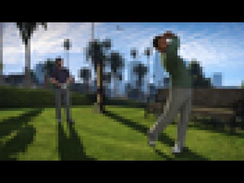 Grand Theft Auto V | Misc | Friend Activity: Play Golf [PS4]