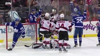 Tyler Bozak 8th Goal of the Season! 1/6/2017 (Toronto Maple Leafs vs New Jersey Devils)