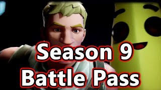 Fortnite Season 9 Battle Pass | The Future Is Yours! After Volcano Event