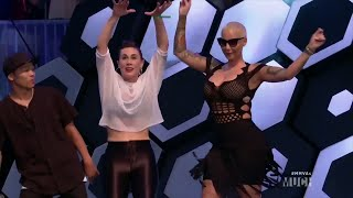 Amber Rose and Lilly Singh Have A Dance Off