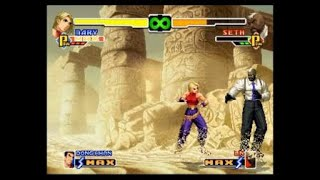 THE KING OF FIGHTERS 2000: Blue Mary - Combo 100% - Striker: Dong Hwan