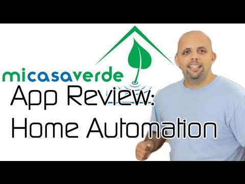 Four Home Automation Android Apps Compared -- Android App Review