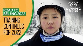 China's Future Olympic Ski-Jumpers Aim for Home Glory | Road to Beijing 2022