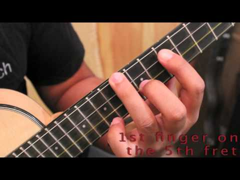 Free Ukulele Lesson - A jazz chord progression