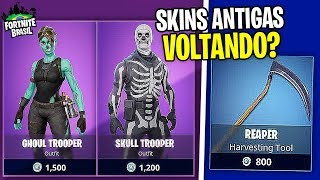LAST YEAR'S HALLOWEEN SKINS ARE COMING BACK? -Fortnite Battle Royale