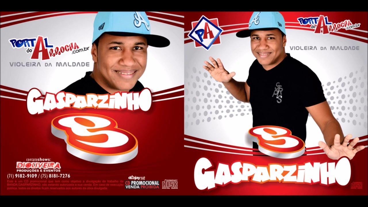 cd completo do gasparzinho 2013