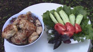 Простой и  очень вкусный рецепт Шашлыка из Курицы в классическом маринаде.Просто и вкусно.(Куриное мясо сейчас получило достаточно широкое распространение в качестве мяса для Шашлыка и многих друг..., 2015-07-20T20:31:14.000Z)