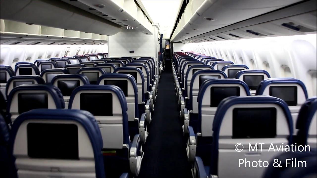 Delta 767-300 (76L) cabin tour (Comfort +)