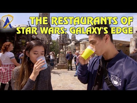 The Restaurants of Star Wars: Galaxy's Edge