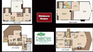 Custom Design Flexibility from GreenCrest Homes Traverse City, Michigan Contractor