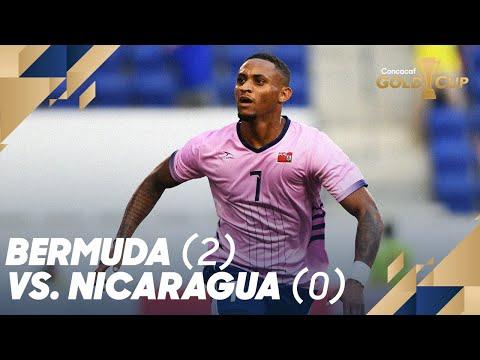 Bermuda (2) vs. Nicaragua (0) - Gold Cup 2019