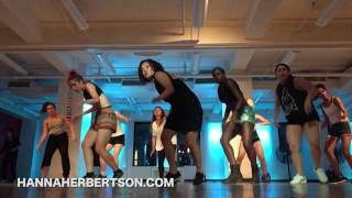 "Dancehall Class @ Broadway Dance Center @HannaHerbertson ""Fully Auto"" Popcaan"