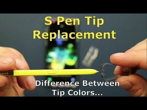 S-Pen Tip Replacement & Difference Between Tip Colors