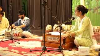 Amrita Kaur Singing Krishna Bhajan with Blessings of her Ustad Prof. Shukdev Madhur Ji