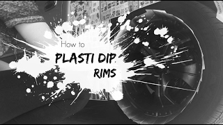 How To Plasti Dip Your Rims | Nikki Stixx