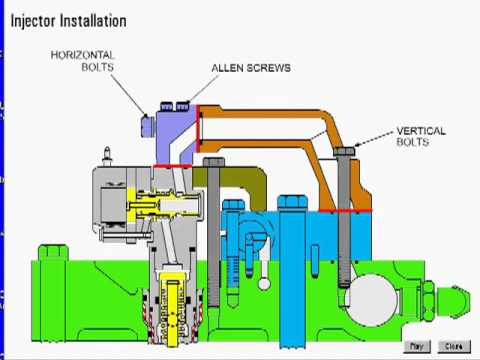 hqdefault cat heui fuel system 02 youtube cat c7 fuel system diagram at aneh.co