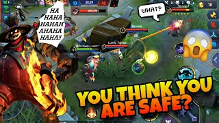 WHEN FRANCO HOOK GIVES YOU NIGHTMARE 😂  | S14 RANK HM | WOLF XOTIC | MOBILE LEGENDS BANG BANG