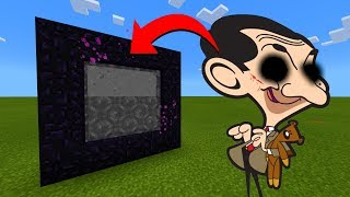 How To Make A Portal To The Mr Bean.exe Dimension in Minecraft!