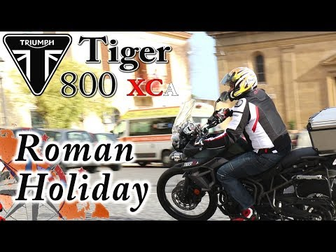 Triumph Tiger 800xca In Rome...even Better... Motorcycle Heaven North Of Rome