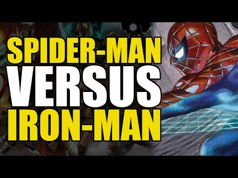 Spider-Man Fights Iron Man (ANAD Amazing Spider-Man Vol 2: Power Play)