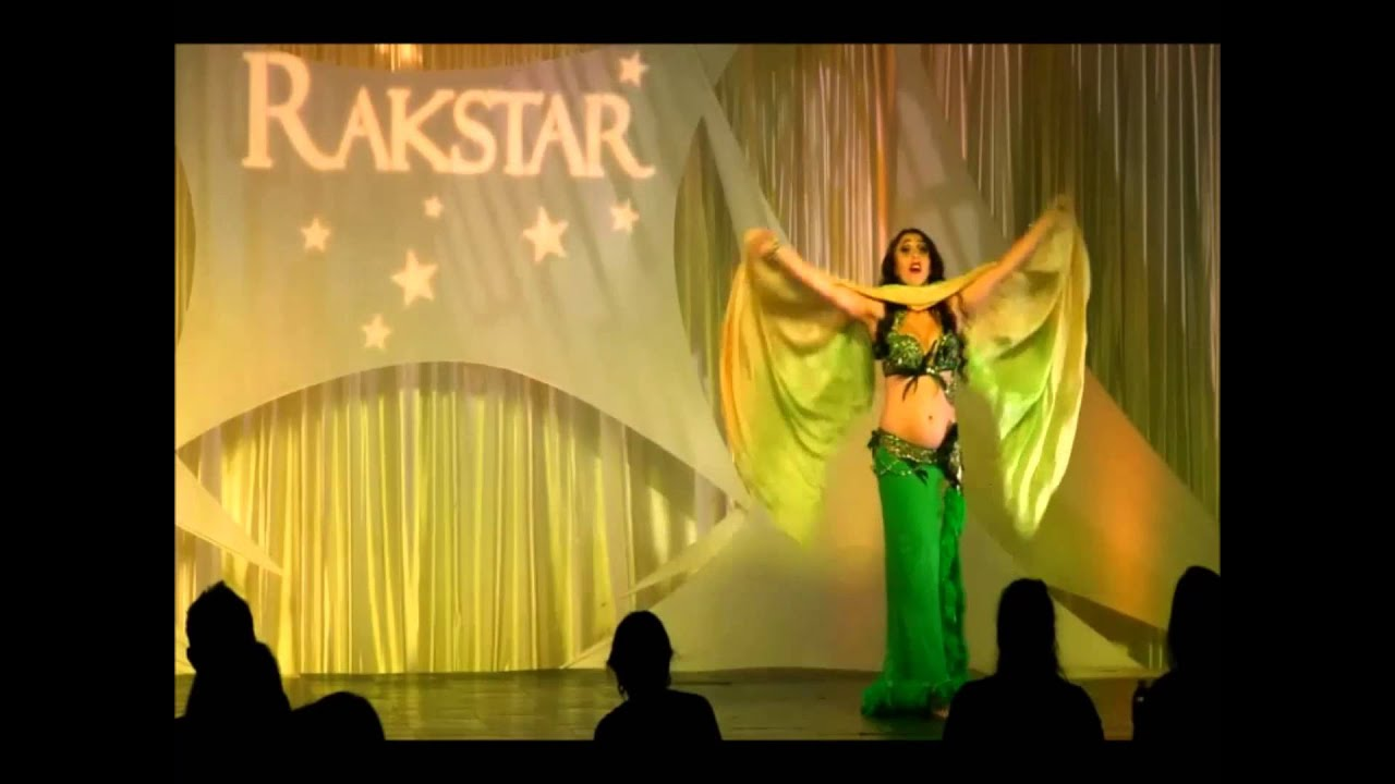 BellyDance Performance by Anastasia at Rakstar ,2015