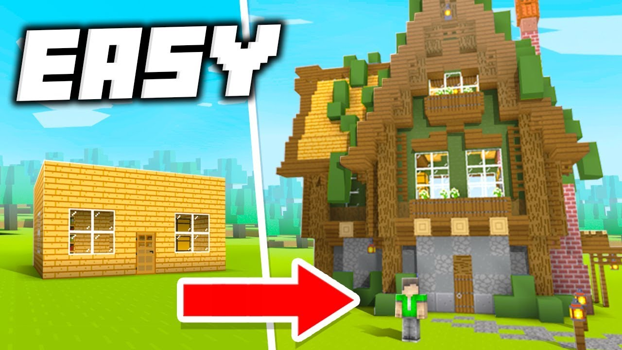 9 Quick Ways To Improve Your House In Minecraft