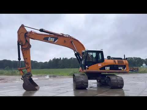 Used heavy machinery Caterpillar 325D Crawler excavator