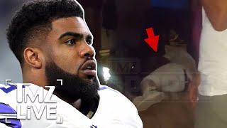 Ezekiel Elliott Involved In Bar Brawl | TMZ Live