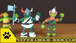 TMNT Nickelodeon. Черепашки - ниндзя: Варвар Раф и Эльф Майки