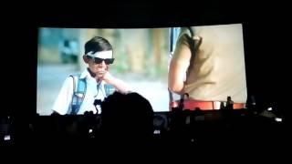 Jithu jilladi mass response at Rohini cinemas Theri365 days celebrations