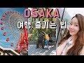 [오사카1탄] 오사카 즐기는 법 👍 스테이크랜드/호빵맨/하루카스 야경 OSAKA
