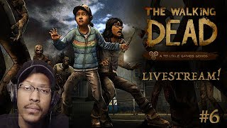 THE ESCAPE! (hopefully...) | The Walking Dead: Season 2 | #6
