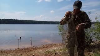 Ловля леща на Рузском водохранилище…