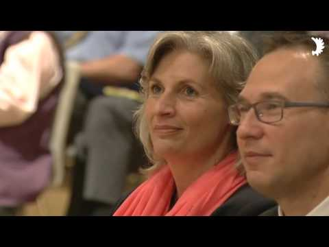 Eröffnung des Deutschlandtreffens der Schlesier 2015 durch Dr. Gotthard Schneider