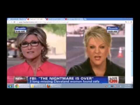 CNN Split Screen Interview In SAME Parking Lot