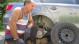 How to check for a broken belt in a tire