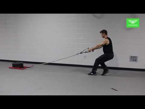 WEIGHT LIFTING - Backwards Sled Pull