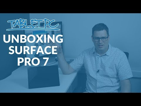 Unboxing The Surface Pro 7... FOR BUSINESS!