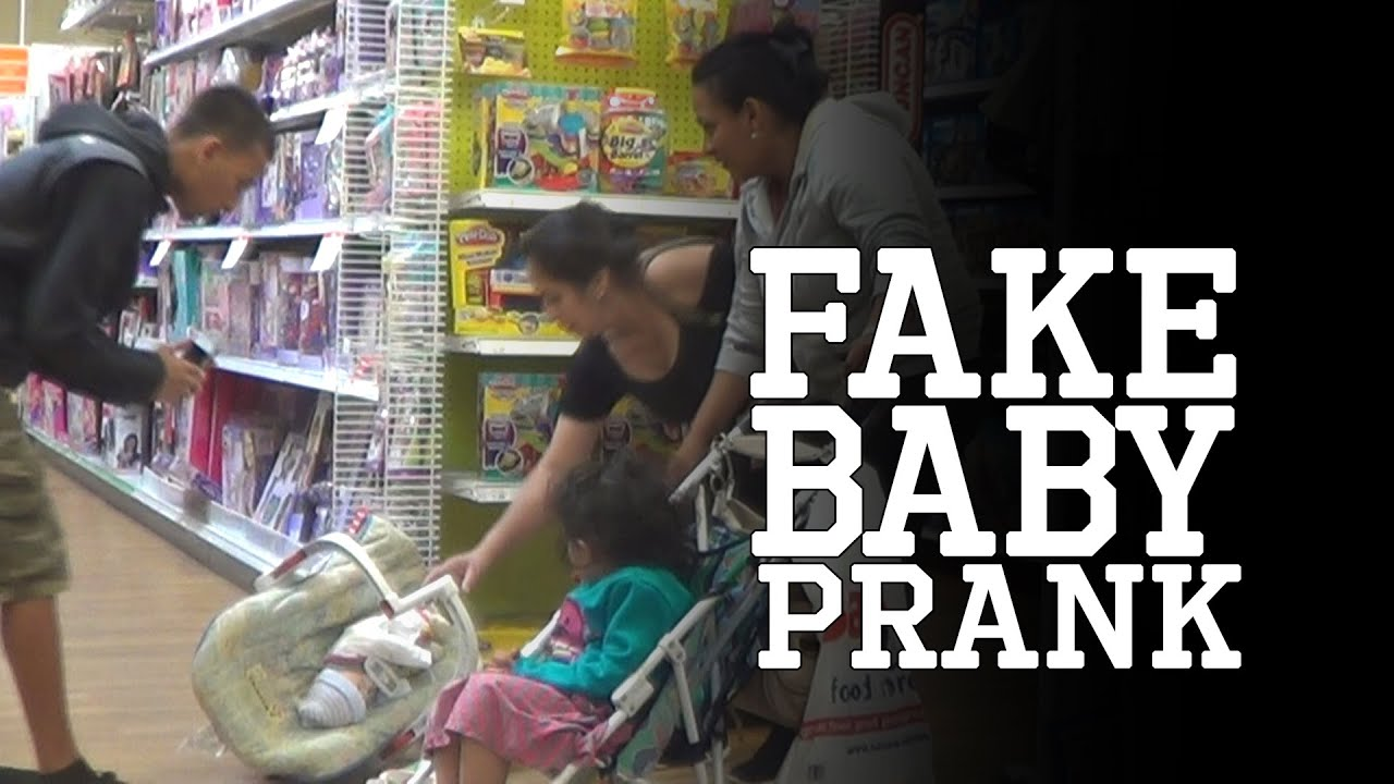 Fake Baby PRANK - YouTube
