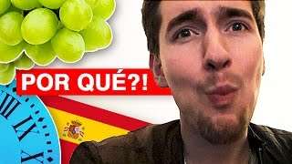 Spain's Crazy Tradition | NEW YEARS EVE!