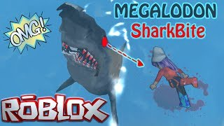 ROBLOX MEGALODON SharkBite You think you are safe in Ocean