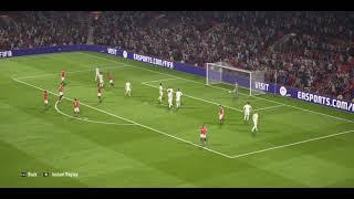 Romelu Lukaku Scoring from Free kick