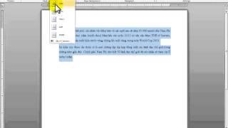 Tin học văn phòng - Microsoft Word - Bài 5