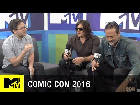 Norman Reedus & Jeffrey Dean Morgan Have Comic Con Traditions | Comic Con 2016 | MTV