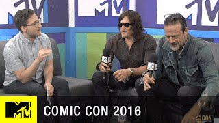 Norman Reedus & Jeffrey Dean Morgan Have Comic Con Traditions | Comic Con 2016 | MTV