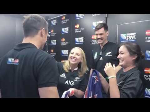 Rugby Priceless Surprises with Dan Carter